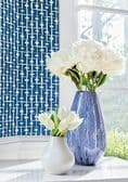 Thibaut Haven Wallpaper in Spa Blue